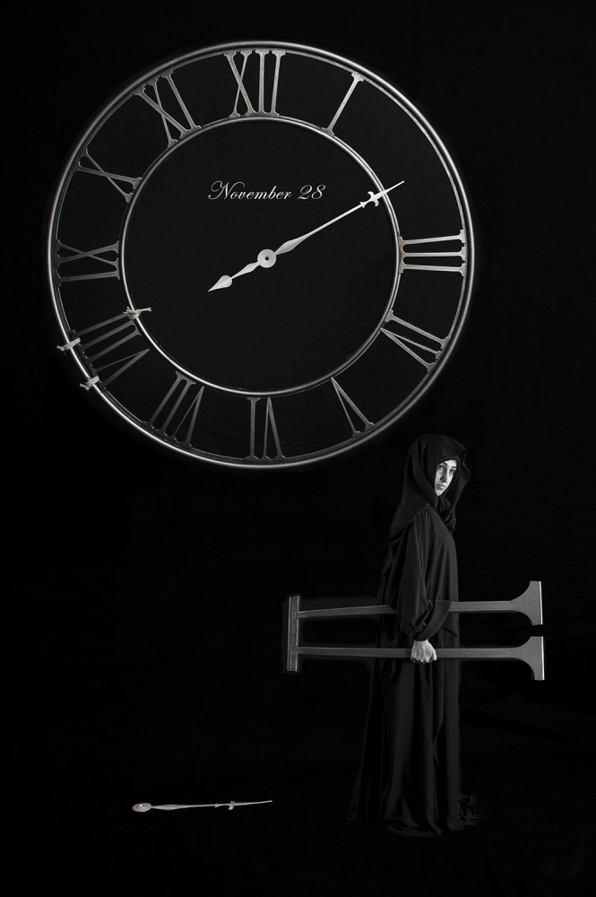 A piece of fine art art photography titled The Thief by Nasser Haji