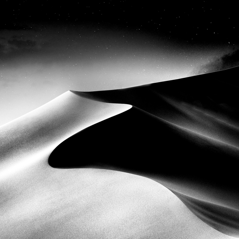A piece of fine art art photography titled The Stars of Namibia by Piet Flour