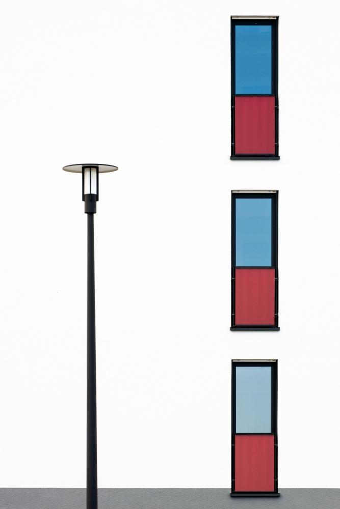 A piece of fine art art photography titled Windows by Jürgen Schrepfer