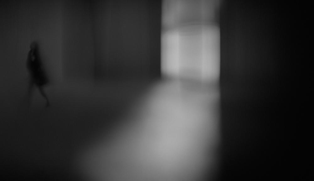 A piece of fine art art photography titled Exit by Teruhiko Tsuchida