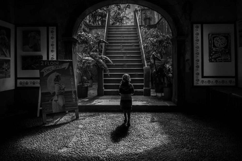 A piece of fine art art photography titled Art Galery by José Fangueiro
