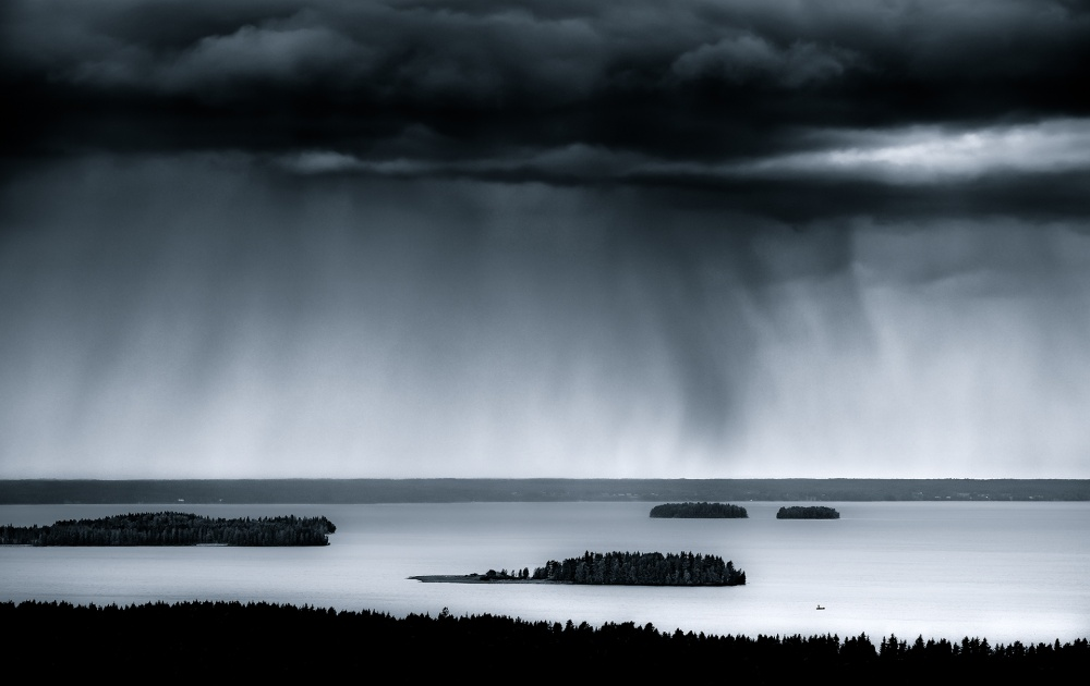 A piece of fine art art photography titled Lappajärvi by Joni Niemelä