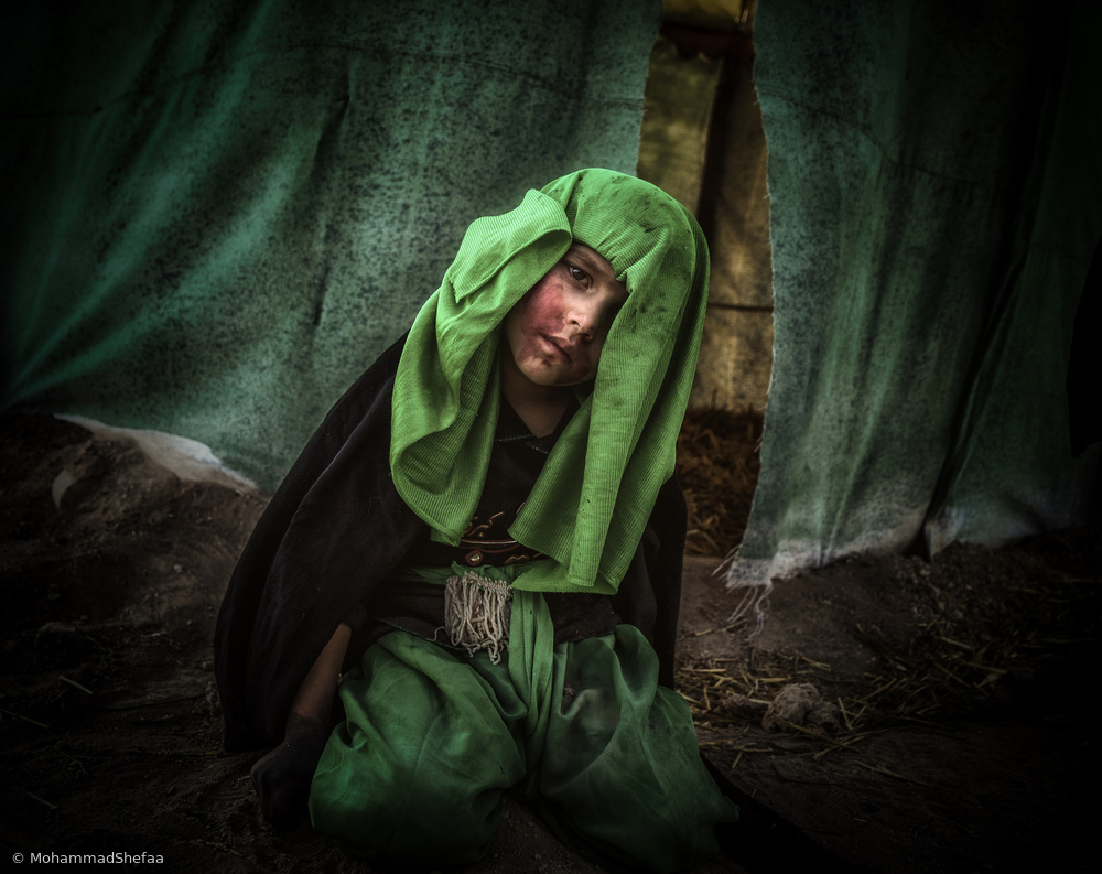 View this piece of fine art photography titled Father's mourning by Mohammad Shefaa