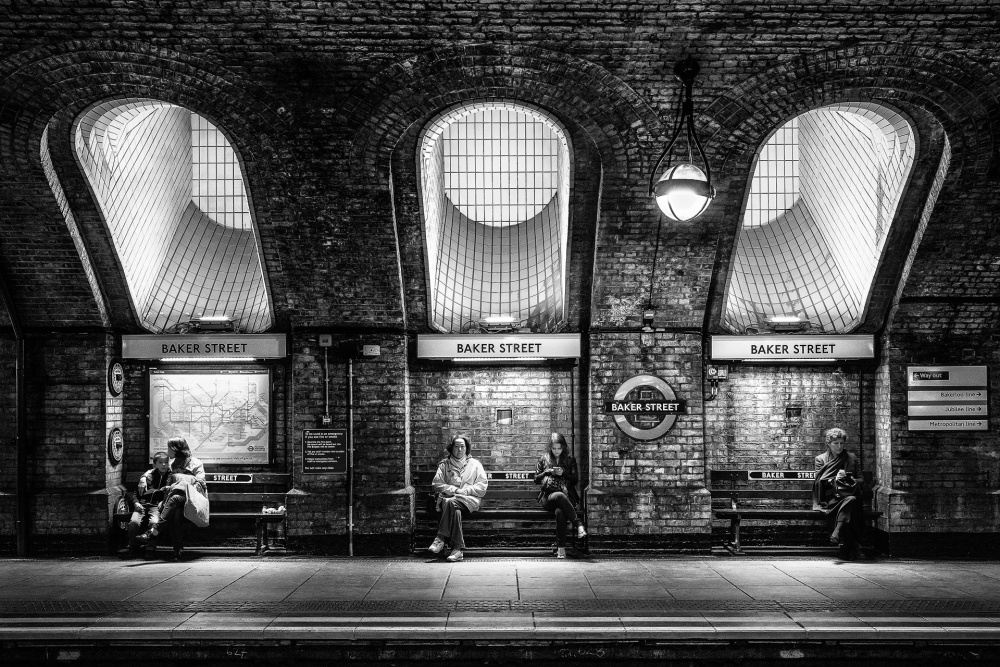 A piece of fine art art photography titled Life @ Baker Street by Hervé Loire