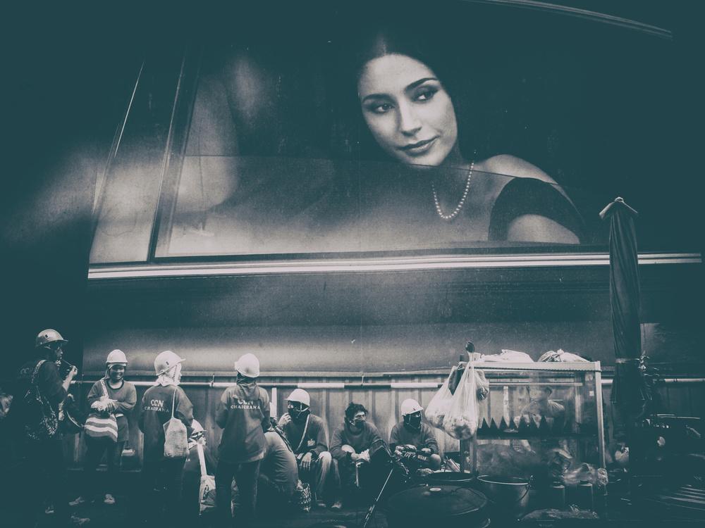 A piece of fine art art photography titled Upper Class by Erik Schottstaedt