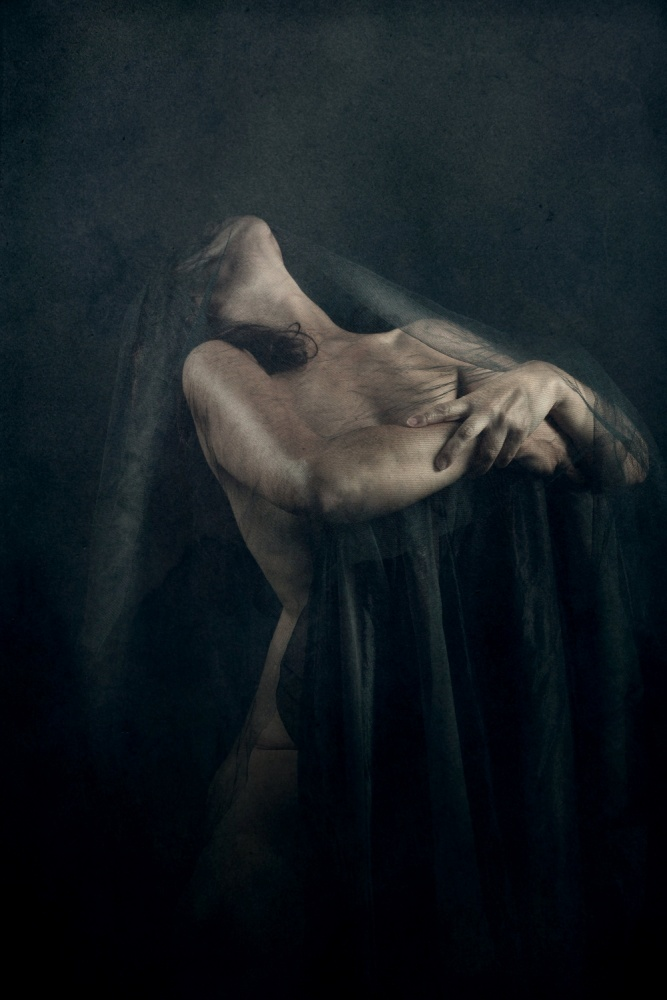 A piece of fine art art photography titled Her(self) by Olga Mest
