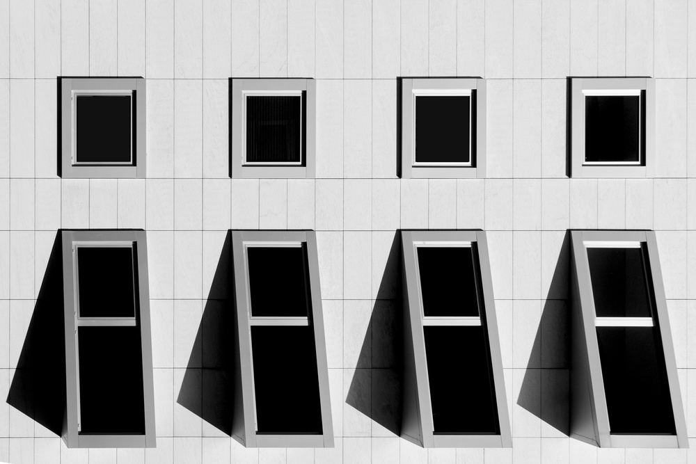 A piece of fine art art photography titled Architecture by Nuno Rocha