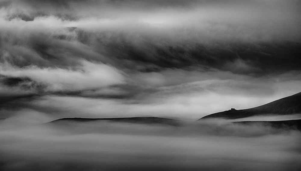 A piece of fine art art photography titled When the Sky Meets the Land by Peter Svoboda, MQEP