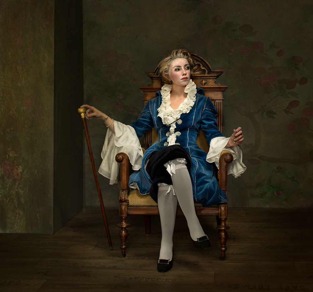 A piece of fine art art photography titled So Lonely by Peter Kemp