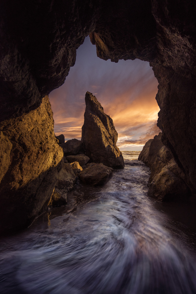 A piece of fine art art photography titled Ruby Beach by Louise Yu