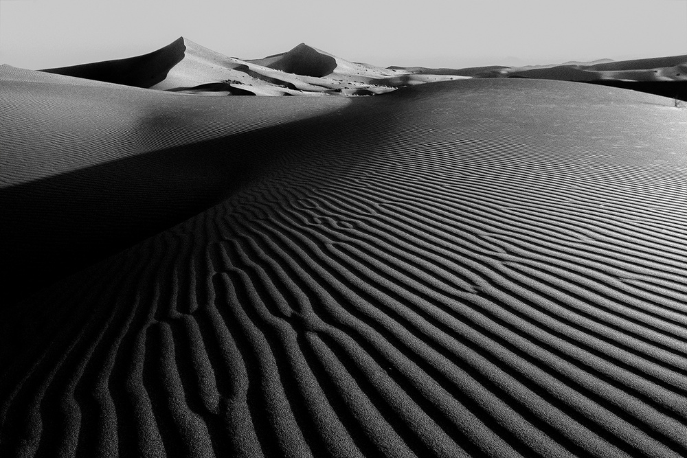 A piece of fine art art photography titled Simplicity In Nature by Amir Hossein Kamali | امیرحسین کمالی