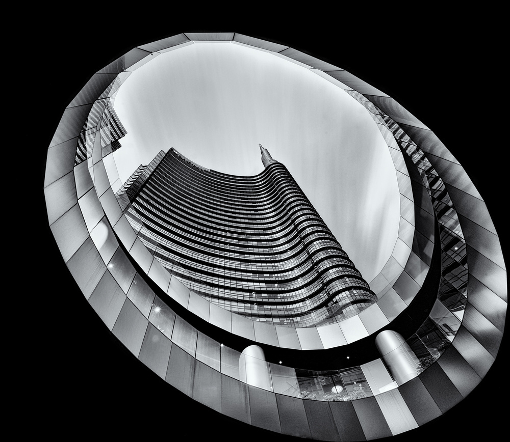 A piece of fine art art photography titled Eye In the Sky by Yuval Shiboli