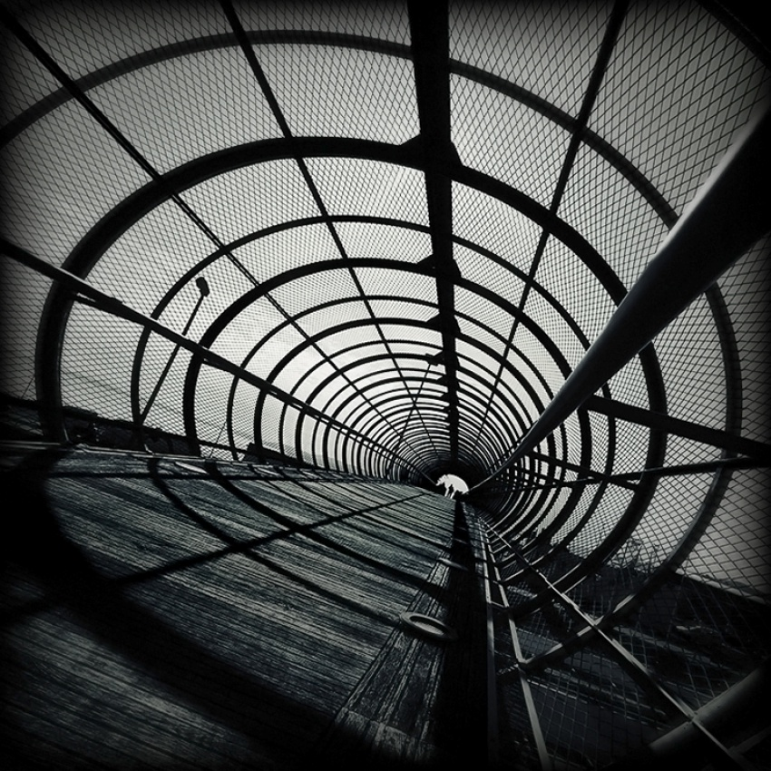 A piece of fine art art photography titled Tunnel Vision by Branislav Fabijanic