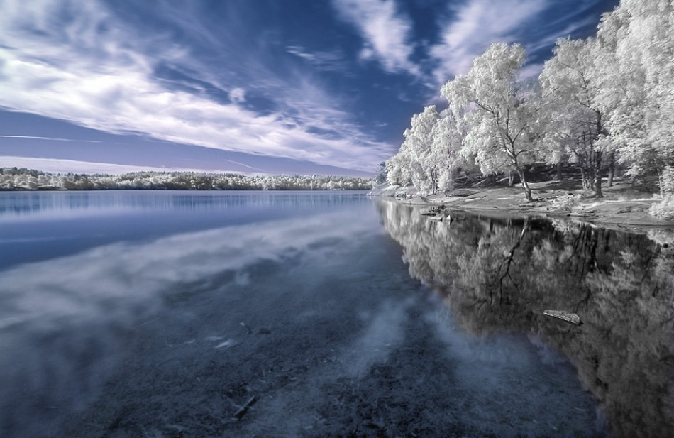 A piece of fine art art photography titled Lake by Istvan Lichner