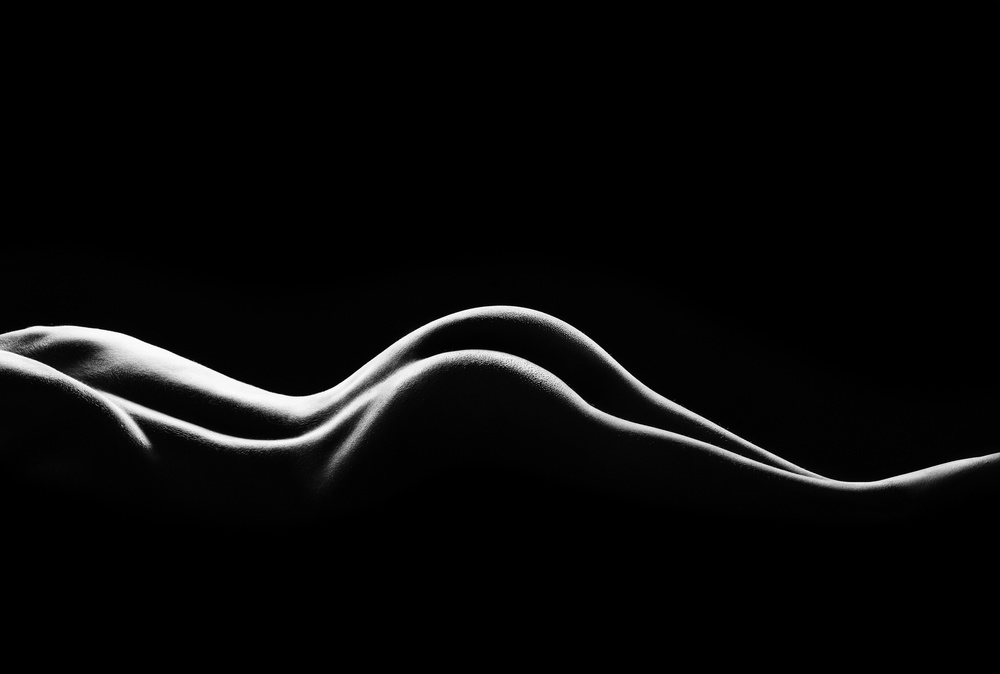 A piece of fine art art photography titled Bodies by Jackson Carvalho