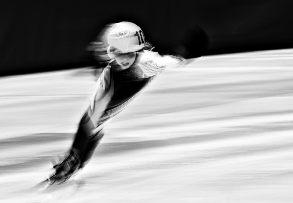 A piece of fine art art photography titled Short Track by Cristina Brunello