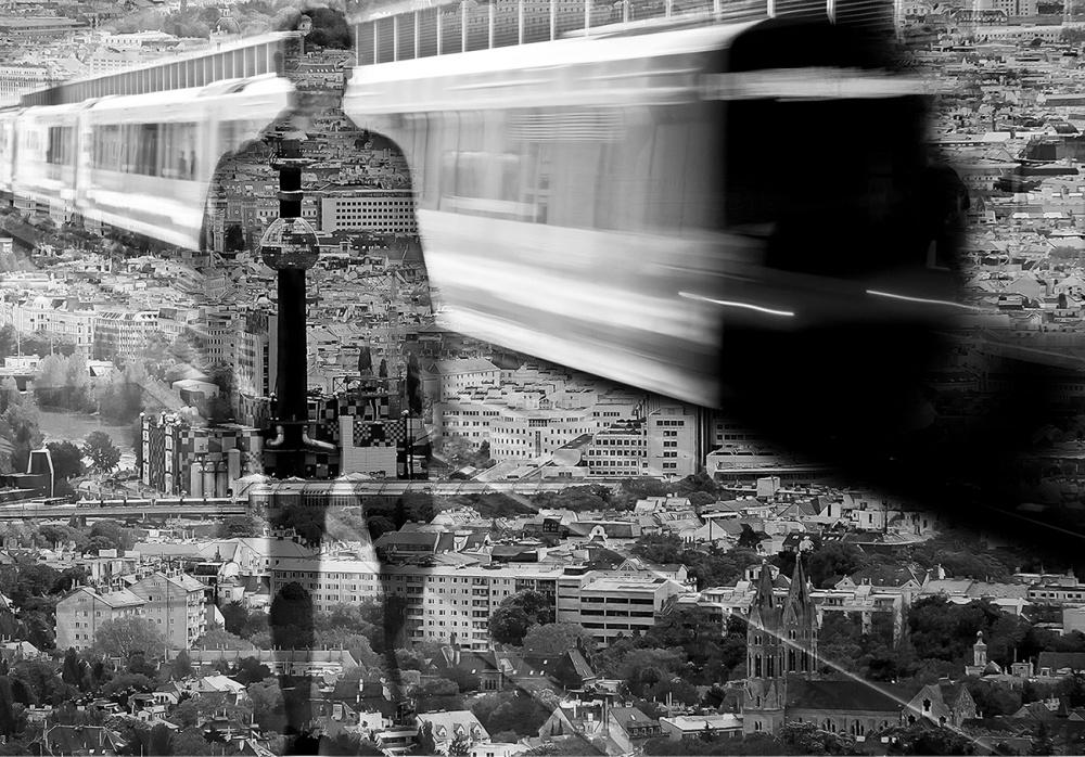 A piece of fine art art photography titled Alone by Alex Konik