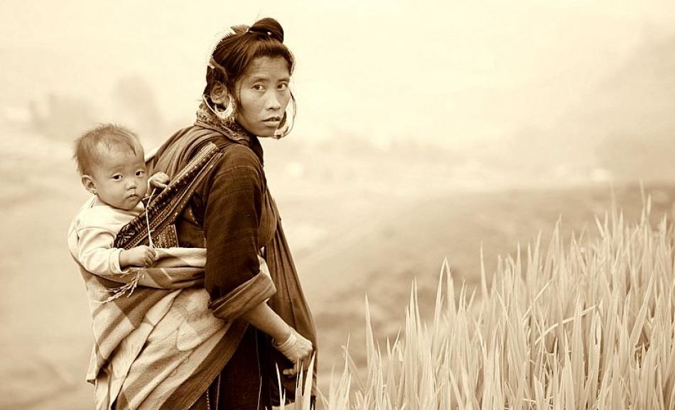 A piece of fine art art photography titled Rice Stick by Erdem Kutukoglu