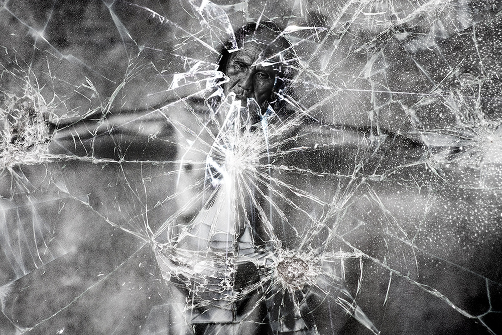 A piece of fine art art photography titled Old Glass by agust syahrivana