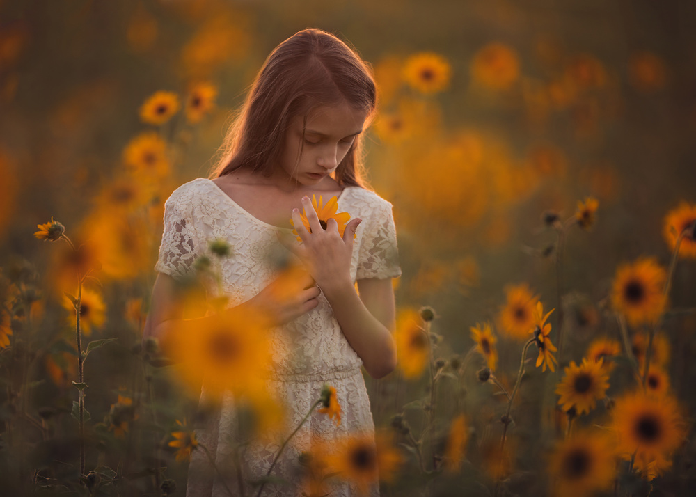 A piece of fine art art photography titled Reverie by Lisa Holloway