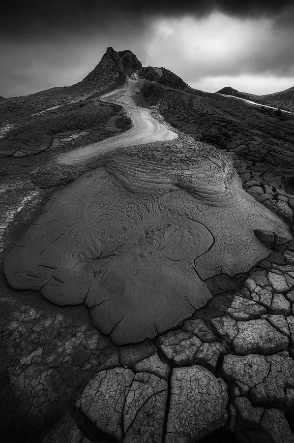 View this piece of fine art photography titled Mud Volcano in Azerbaijan by Ales Krivec