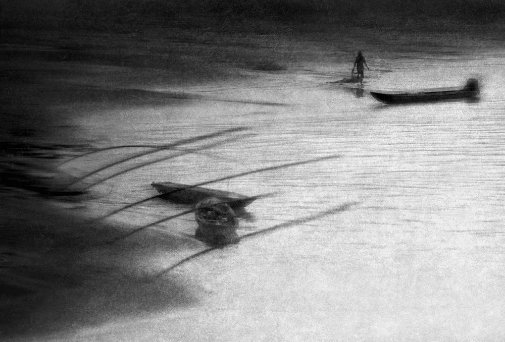 A piece of fine art art photography titled Endless Wind by Ekkachai Khemkum