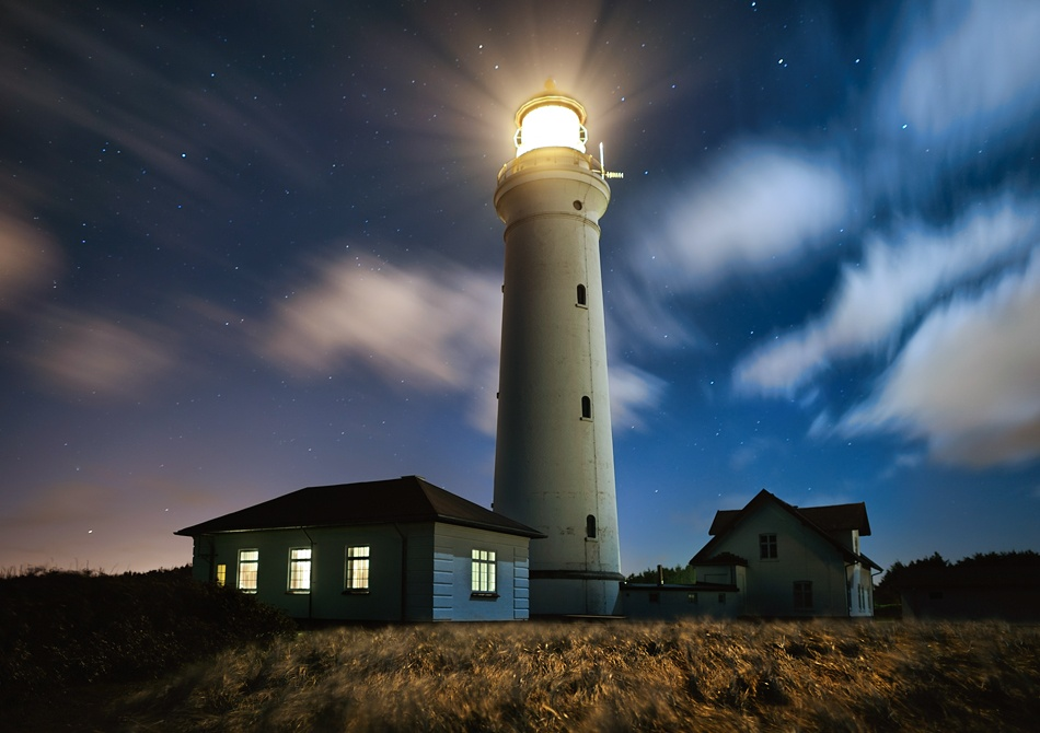 A piece of fine art art photography titled The Lighthouse by keller