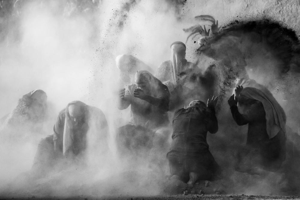 A piece of fine art art photography titled Resurrection by Mohammadreza Momeni