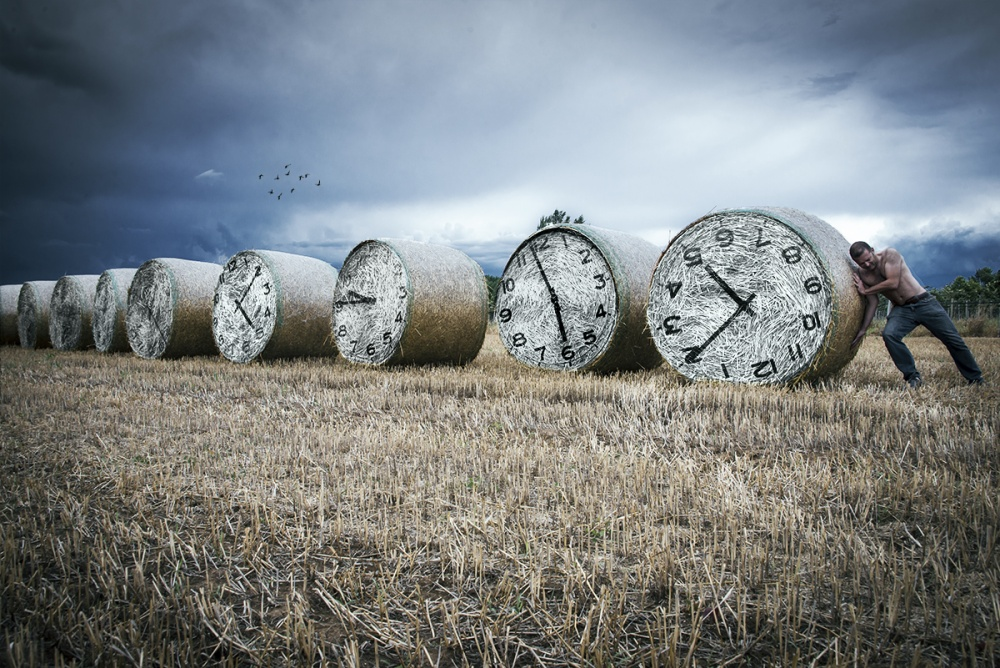 A piece of fine art art photography titled Time Resisting by LEONARDO BONIOTTO