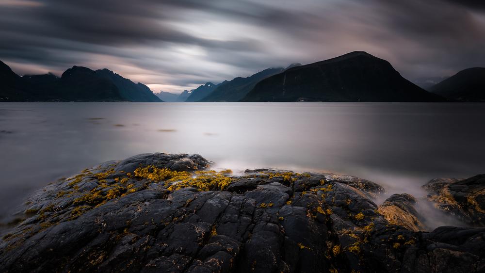 A piece of fine art art photography titled After Sunset by Tomasz Orylski