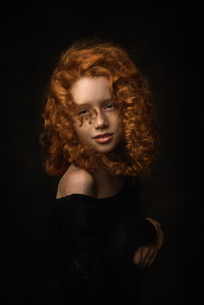 A piece of fine art art photography titled Katya by Konstantin Pilipchuk