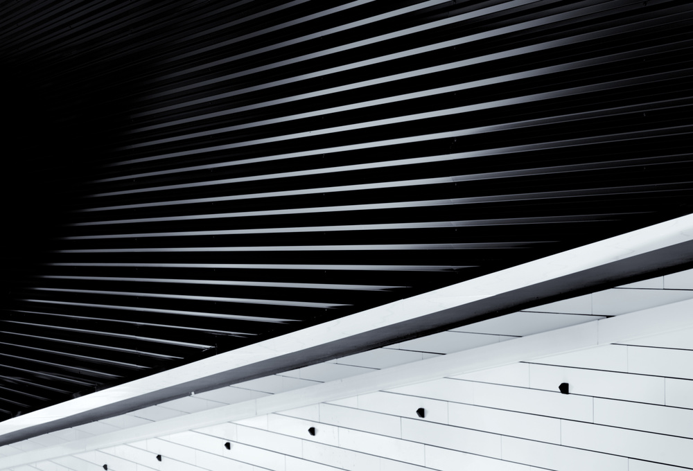 A piece of fine art art photography titled All About Lines by Jeroen van de Wiel