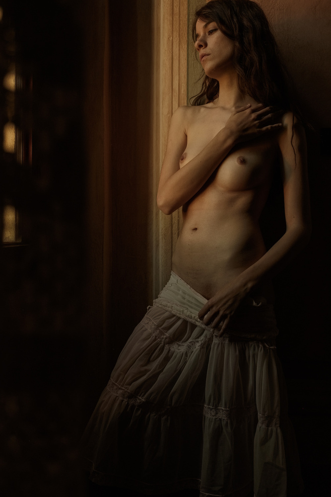 A piece of fine art art photography titled Warm by Federico Cella