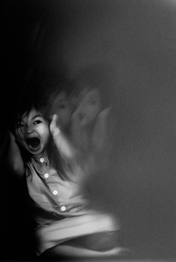 A piece of fine art art photography titled The Scream by teddy hariyanto