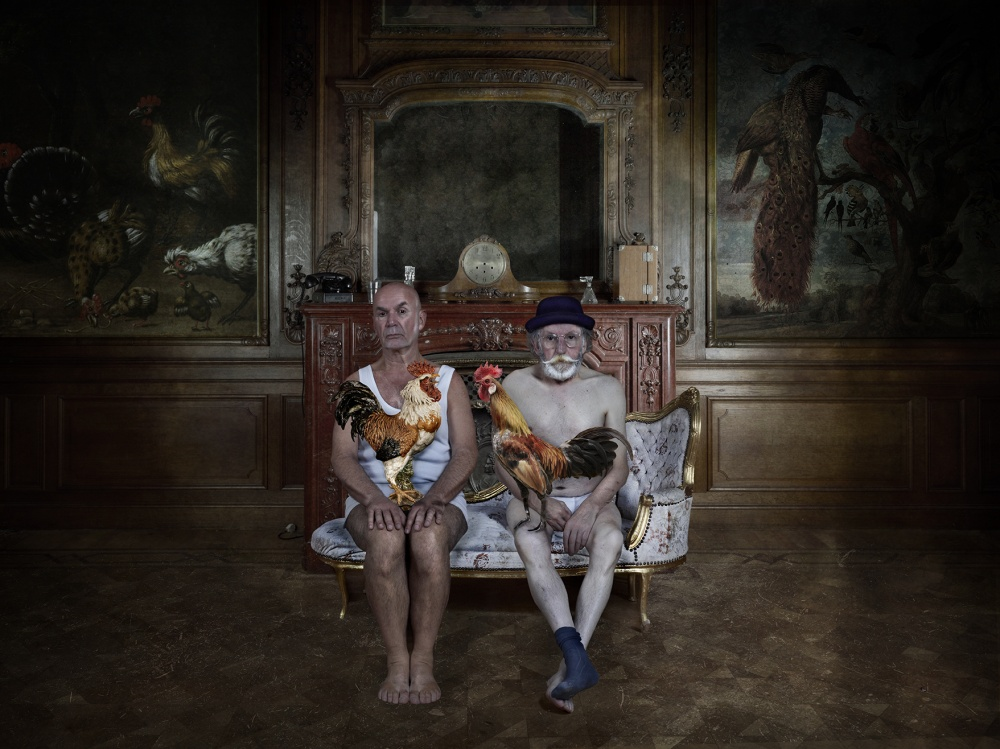 A piece of fine art art photography titled Terrence and Rene' by Patrizia Burra