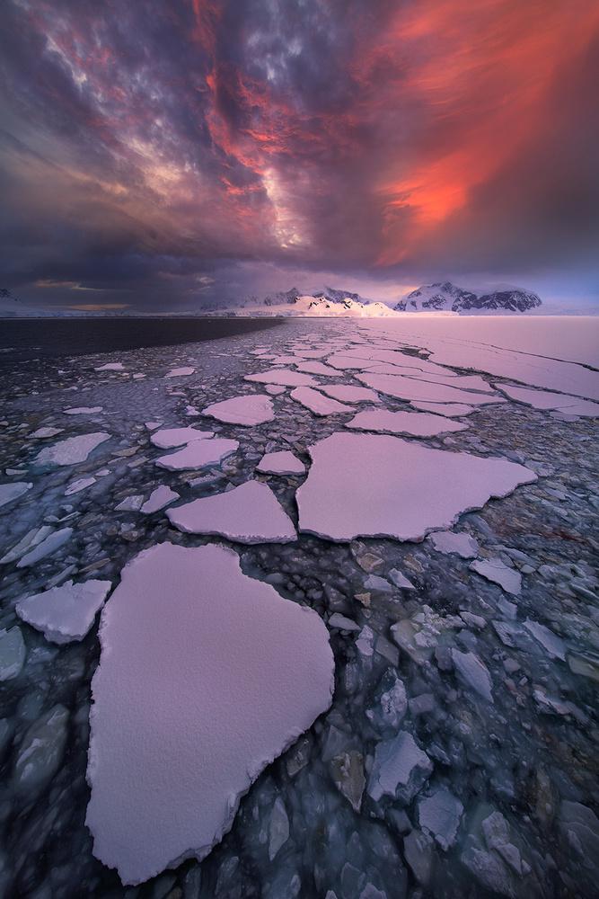 Antarctica fire