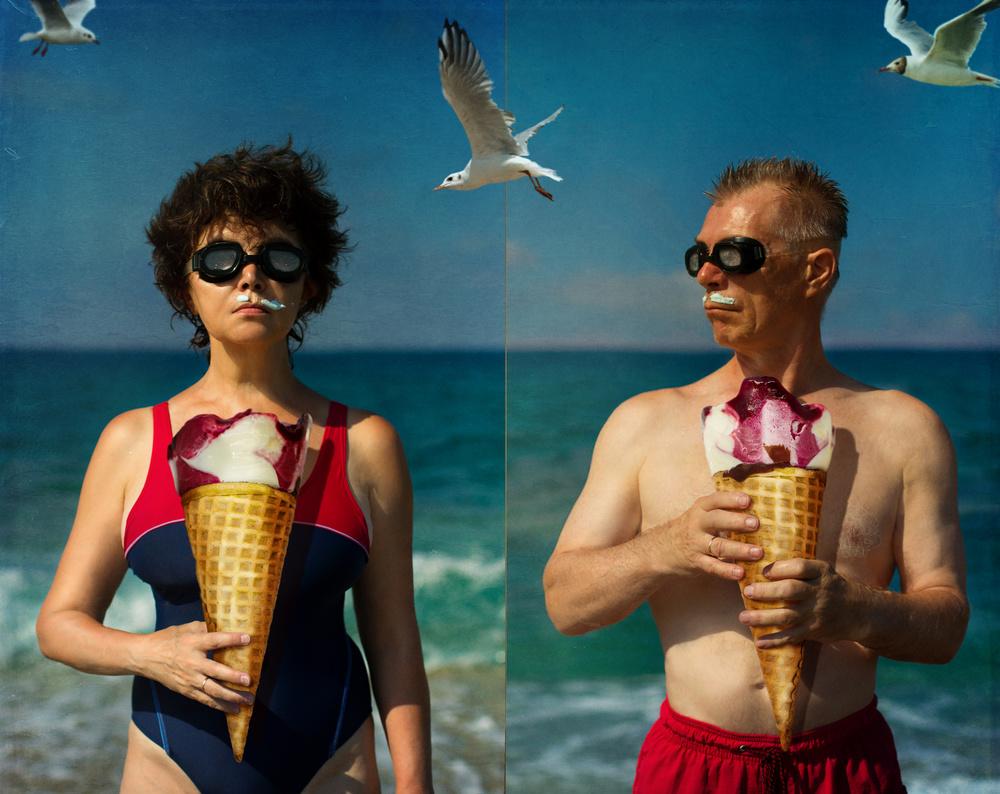A piece of fine art art photography titled Summer Time2 by Svetlana Melik-Nubarova