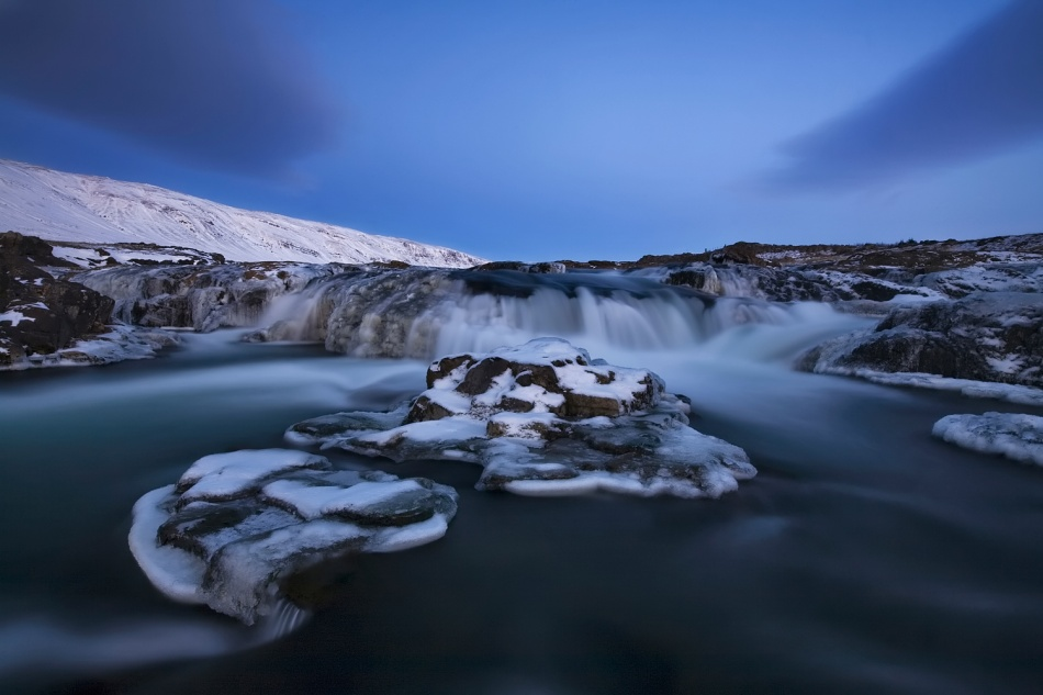 A piece of fine art art photography titled Stream by Bragi Ingibergsson - BRIN