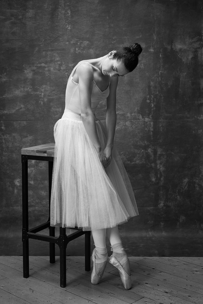A piece of fine art art photography titled Ballet Dancer by Boris Belokonov