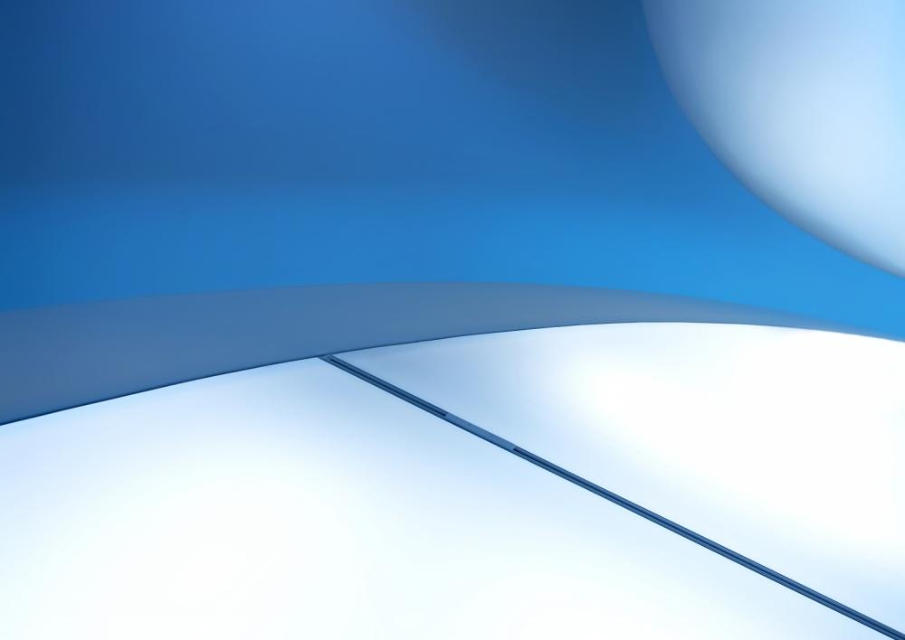 A piece of fine art art photography titled The Blue Line by Gerard Jonkman