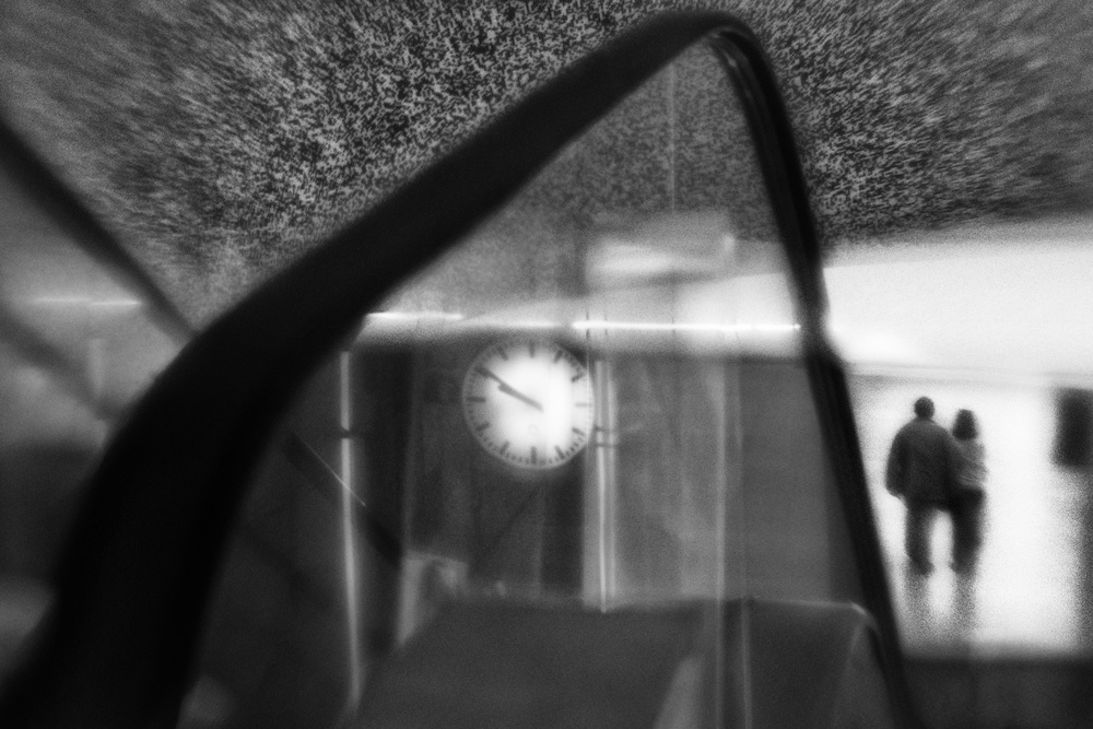 A piece of fine art art photography titled The Only Way Out Is Through by Paulo Abrantes