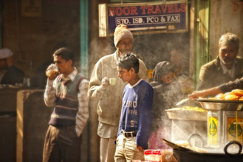 A piece of fine art art photography titled Morning Tea by Prateek Dubey