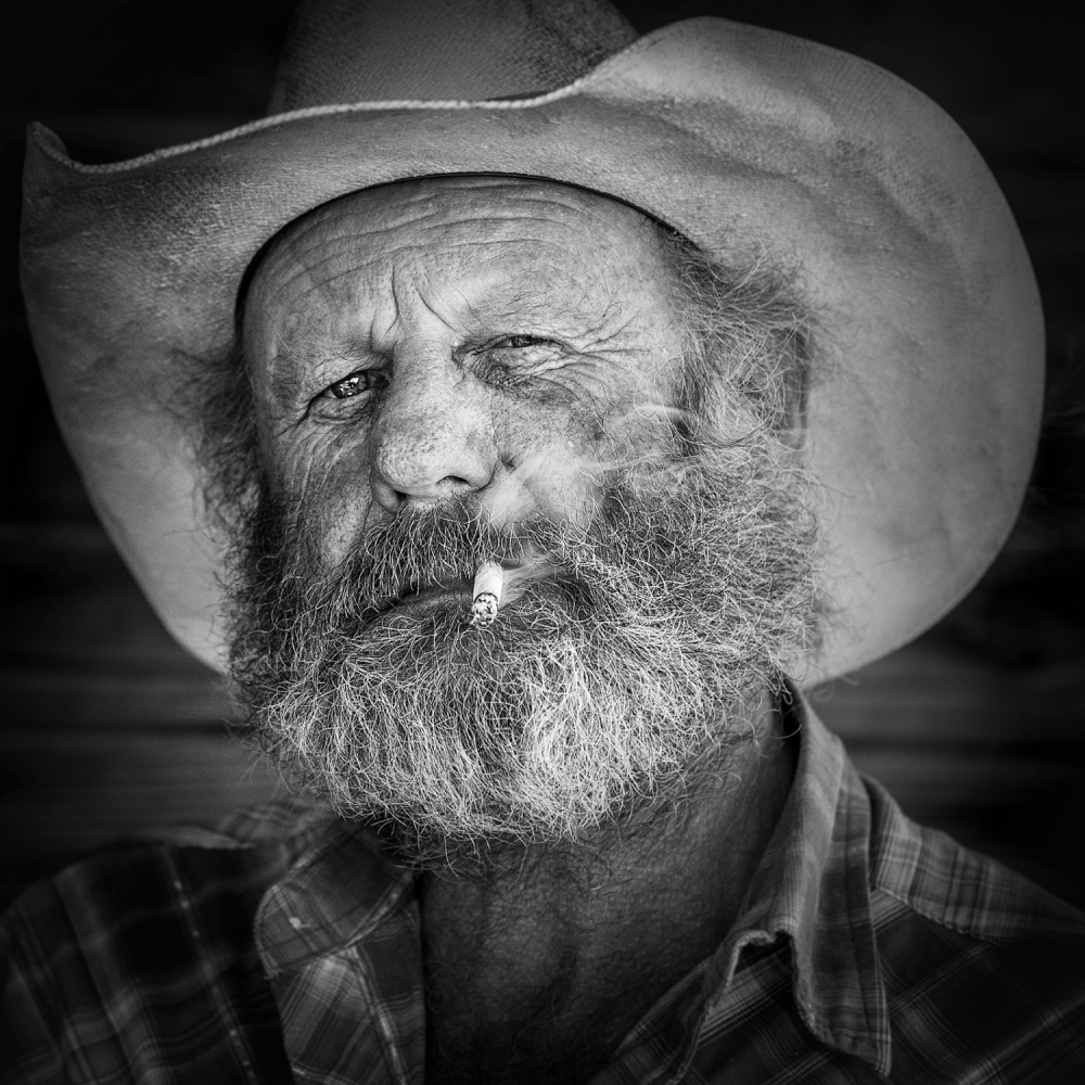 A piece of fine art art photography titled American Old West by Ali Khataw