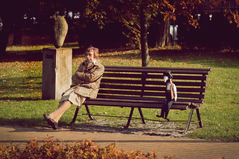 A piece of fine art art photography titled Silent Days by Adam Sandurski