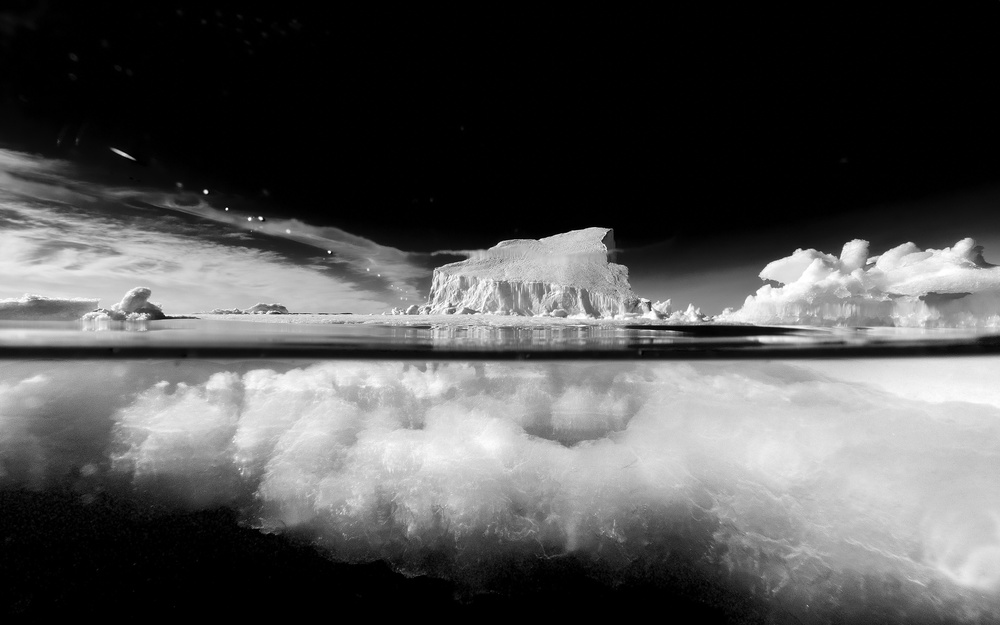 From the series 2/3 below the Arctic Ocean Line B&W