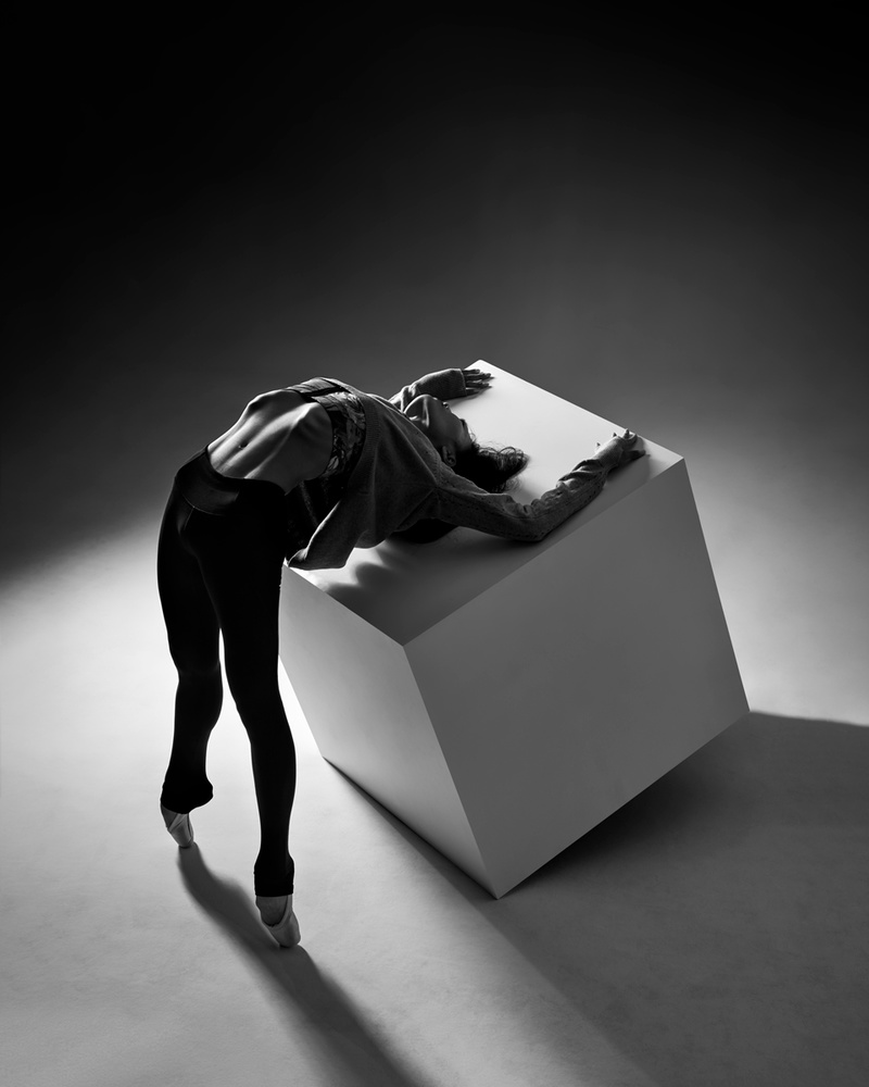 A piece of fine art art photography titled Cube by Piotr Leczkowski