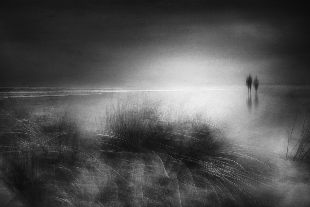 A piece of fine art art photography titled Everything Changes Like the Shoreline and the Sea by Charlaine Gerber