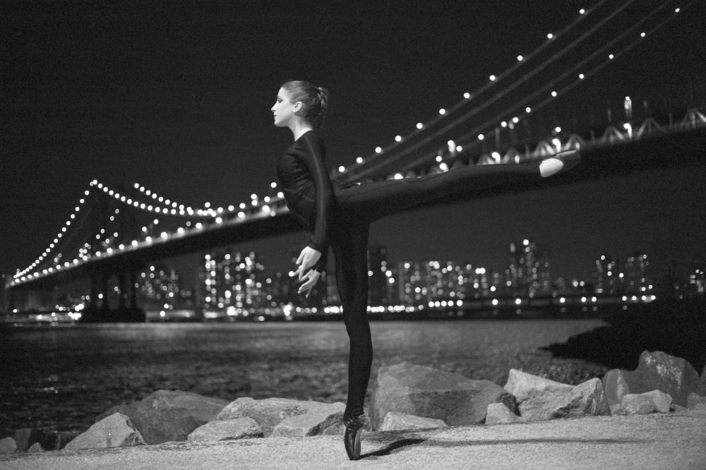 Manhattan Bridge Arabesque