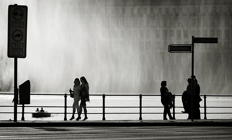 A piece of fine art art photography titled Catwalk by Dirk Eidner