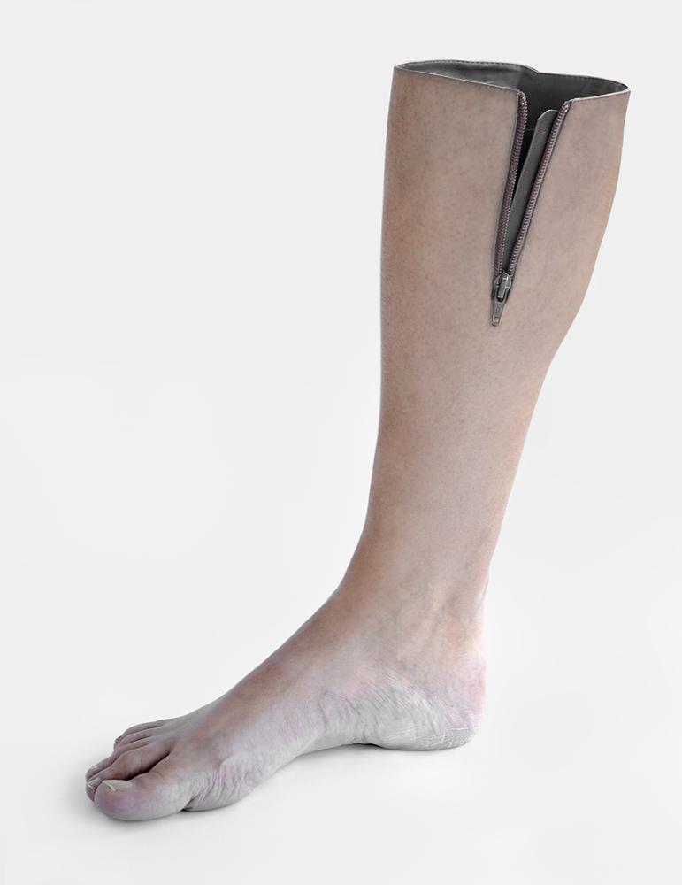 A piece of fine art art photography titled Ideal Footwear by Juan de Villalba